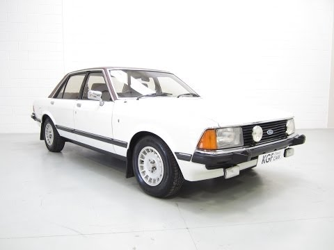 A Magnificent Mk2 Ford Granada with Just Two Owners and 36,144 Miles from New - SOLD!