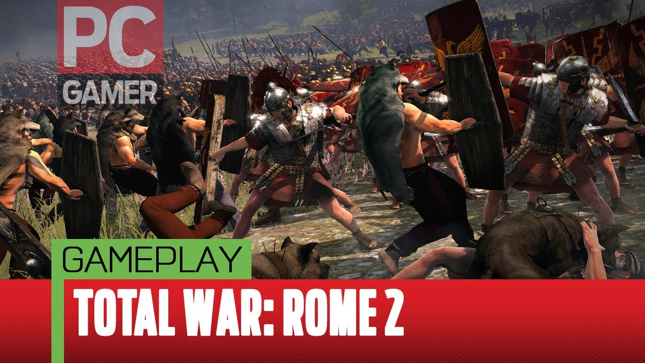 Total War: Rome II Gameplay Demo - YouTube