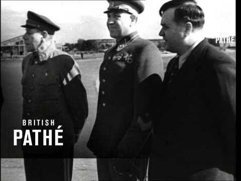 Mr Churchill In Moscow (1942)