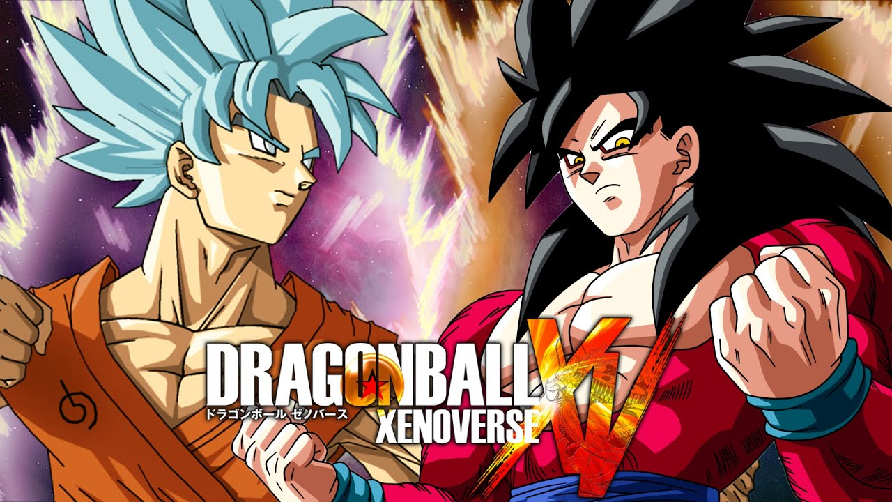 Dragon ball xenoverse viaggi nel tempo goku ssgss vs - Dragon ball xenoverse ss4 vegeta ...