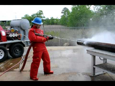 Advanced Pressure Systems Water Blasting Equipment Youtube