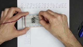 Designing a 7-segment hex decoder