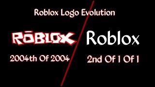 Roblox Logo Evolution Partie 19/24 #