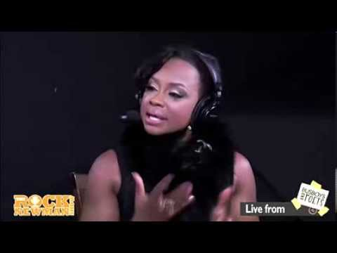 Phaedra Parks on The Rock Newman Show