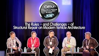 SCRS Presents: The Rules – and Challenges – of Structural Repair on Modern Vehicle Architecture