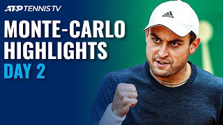 Karatsev Takes On Musetti; Humbert & De Minaur Look To Progress | Monte-Carlo 2021 Day 2 Highlights