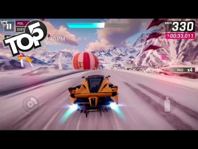 Top 5 Most Amazing Racing Games REALISTIC GRAPHICS Android,iOS 2019 | Gameplay & Reviews