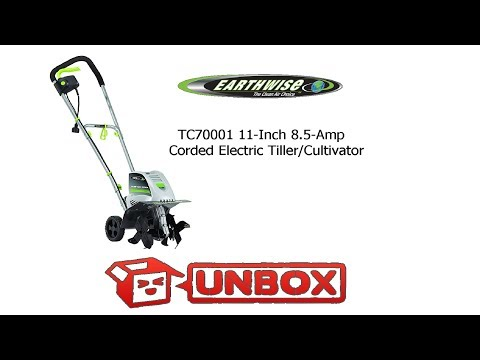 Earthwise Tc70001 11 Inch 8 5 Amp Electric Tiller Cultivator Unboxing Assembly Notsponsored Youtube
