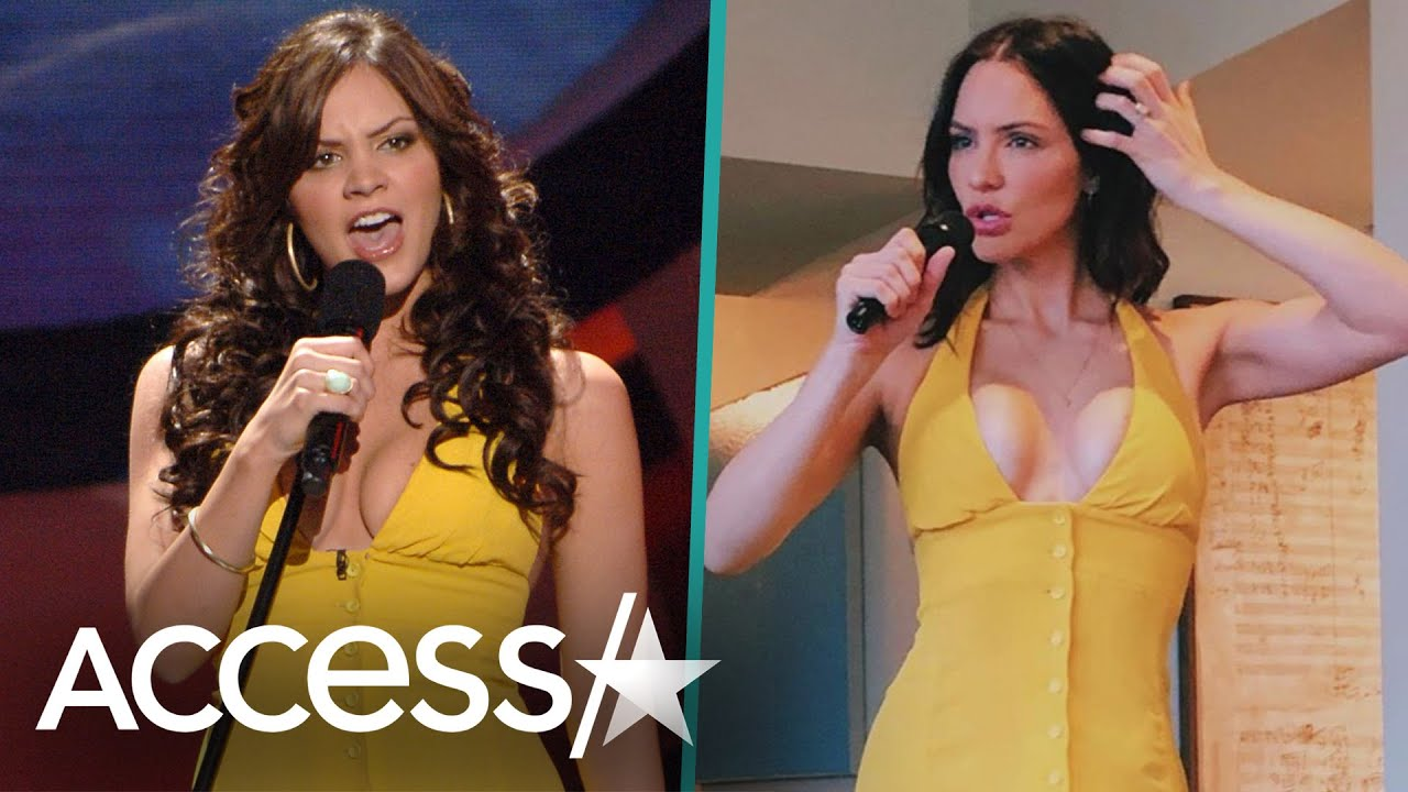 Katharine McPhee Still Fits In Her 'American Idol' Dress 14 Years Later