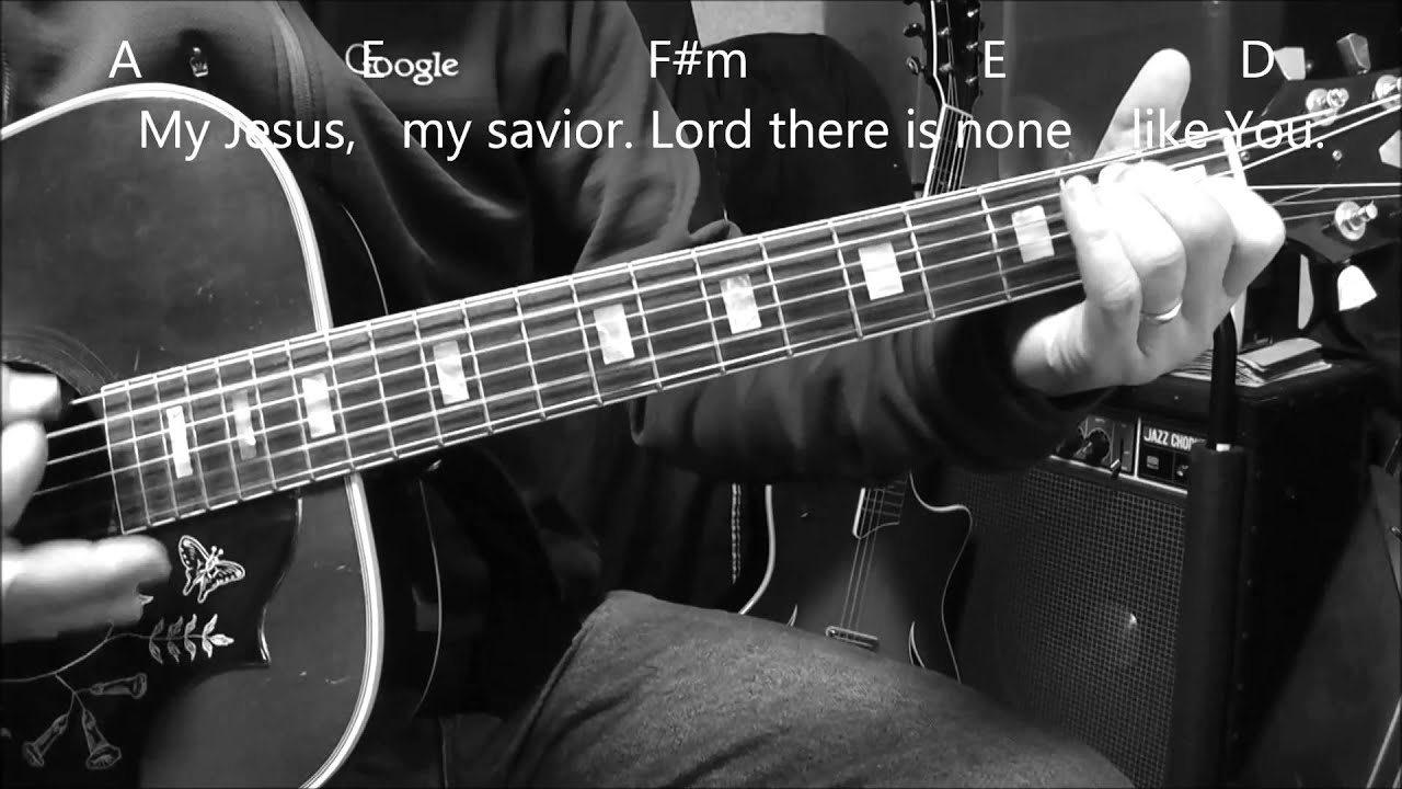 How To Play Shout To The Lord With Chords Strumming And Lyrics