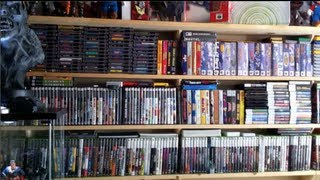 My Video Game and Statue Collection Room Tour HD