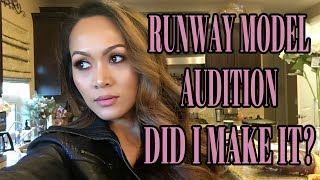 LIFE VLOG: GET READY WITH ME:  GOING TO A MODELING AUDTION, DID I MAKE IT?