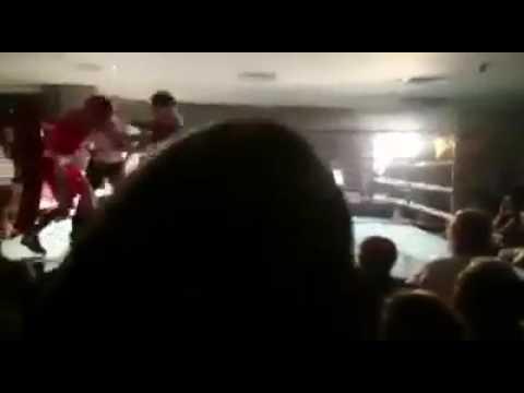 Enniskillen hairdresser getting Paul McGuigan battered