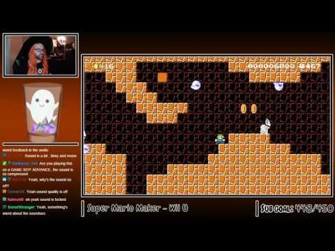Spooky Mario Maker Levels