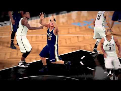 PS4 NBA 2K16 Jeff Lin First Single field MVP. UTAH JAZZ 2016/03/17