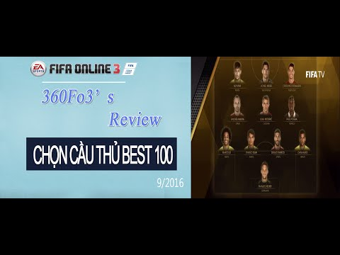 360Fo3  Chọn cầu thủ best 100 Fifa Online 3 Tập 3   fo3 #27