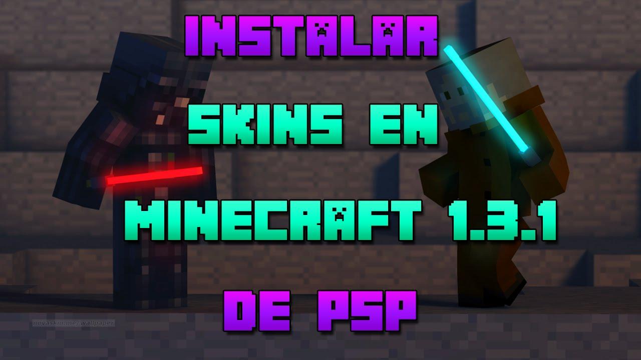 Instalar Skins En Minecraft De PSP HD Luigi YouTube - Descargar skins para minecraft youtube