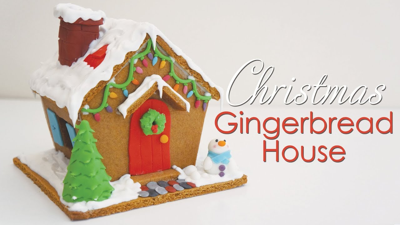 Christmas gingerbread house tutorial recipe tutorial for How do you make a gingerbread house