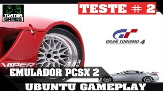 PCSX2 Linux Gameplay Gran Turismo 4 HD-2K no Linux