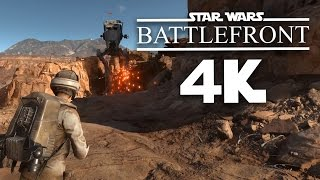 Star Wars Battlefront 4k 60fps Gameplay - HOW GORGEOUS DOES IT LOOK ???