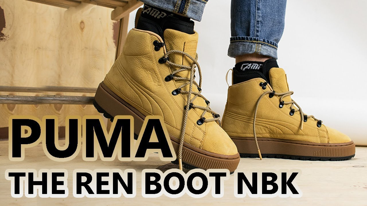 0cee6ea7a94 PUMA The Ren Boot NBK | ГОВНО БОТЫ (сугубо мое мнение)