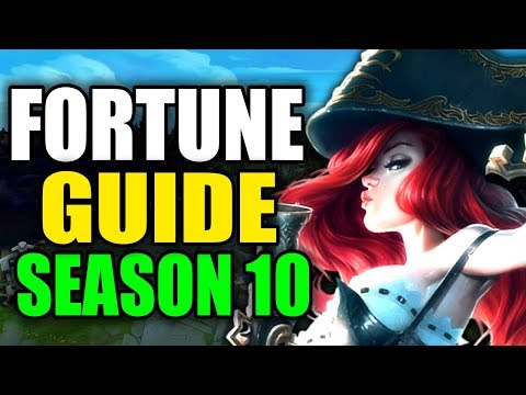 SEASON 10 MISS FORTUNE GAMEPLAY GUIDE - (Best Miss Fortune Build, Runes Playstyle) League of Legends