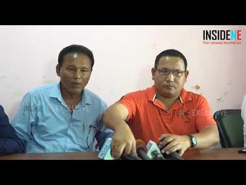 Pramod Boro Along With The Tribal Leaders On The Dokmoka Issue