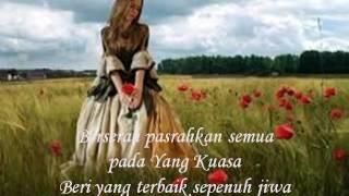 lirik lagu BERSERAH