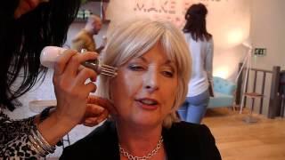 Jane Felstead having CACI Microlift Treatment