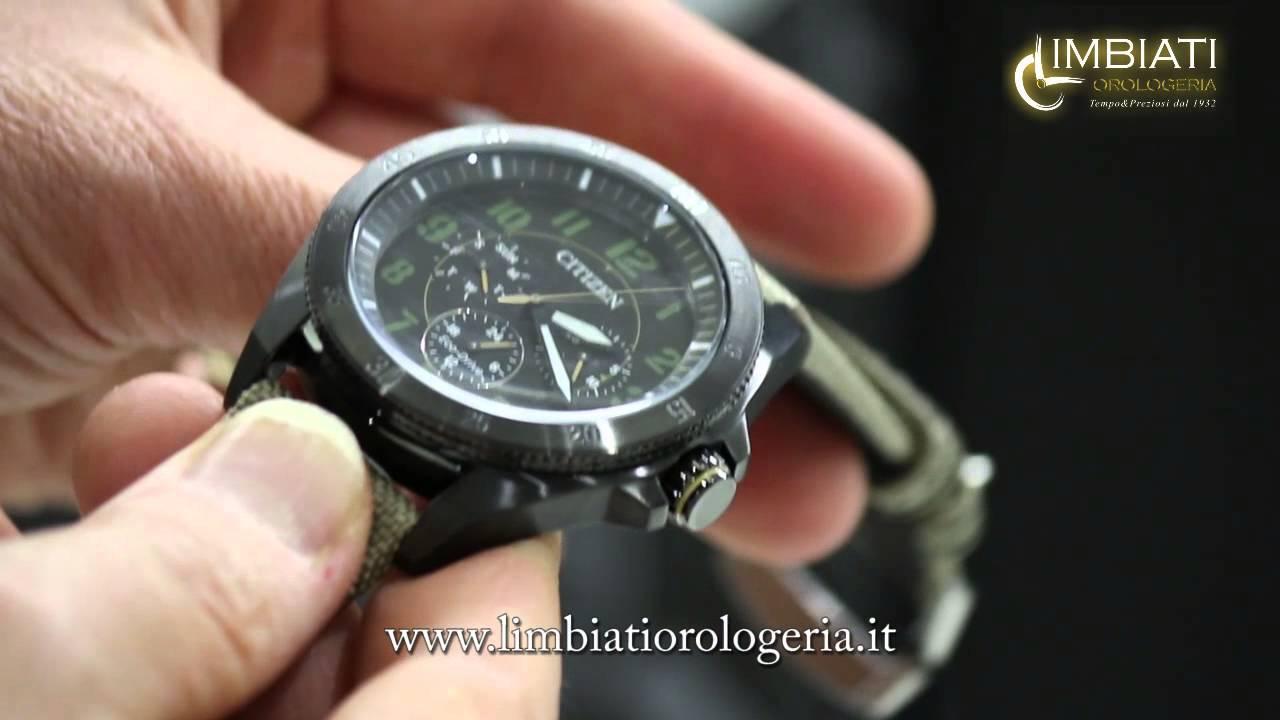 alta moda a basso costo super popolare Orologio Militare Citizen Military