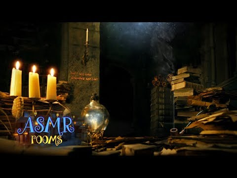 Lord Of The Rings Inspired Ambience - Gandalf's Library - Minas Tirith Of Gondor Soundscape
