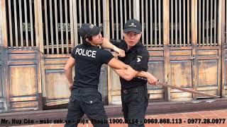 Hướng dẫn tự vệ chống đao kiếm - Mr. Huy Côn