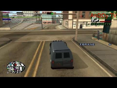 GTA San Andreas Multy Player Welcome To Los Santos. Misie 2 Psak Ofci a Priekupnik.