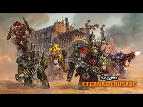 Warhammer 40k Eternal Crusade | Trying to Power Klaw to Victory | Ork vs Marines | Gameplay