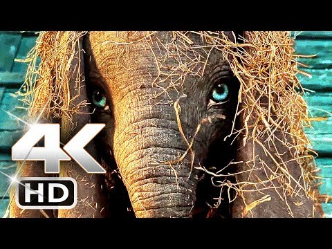 DUMBO Trailer 4k (2019) Tim Burton Disney Movie HD
