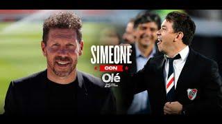 Simeone sobre Marcelo Gallardo y River Plate