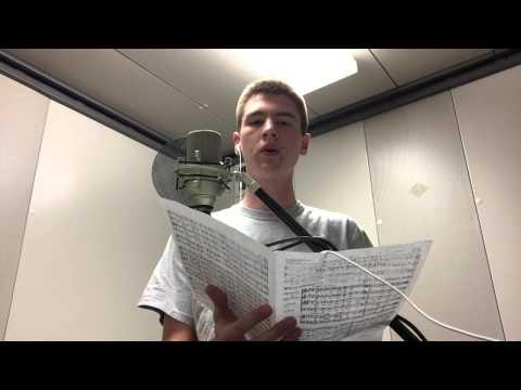 Jared Schillinger   National Audition