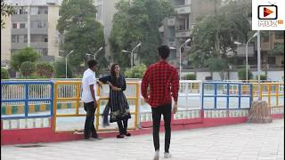 Strangers Boy Friend Prank By Urfi Shaikh amp Kinza Nasir Very Funny