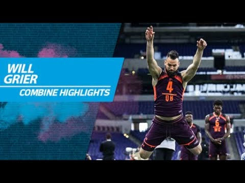 West Virginia quarterback Will Grier's 2019 NFL Scouting Combine workout