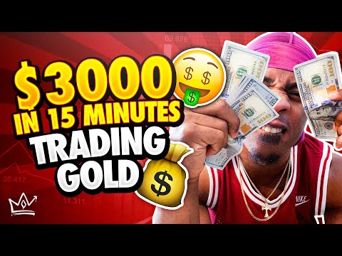 How I Made $3000 in 15 Minutes Trading Forex (LIVE ACCOUNT) | STEP-By-STEP Breakdown