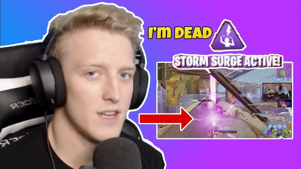 TFue Dies to Storm Surge *NEW* - YouTube