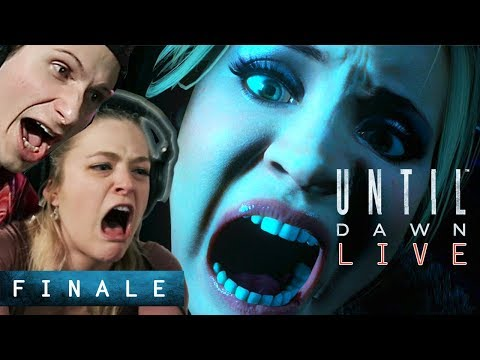 Scared Buddies Play Until Dawn Until They Beat It - Finale
