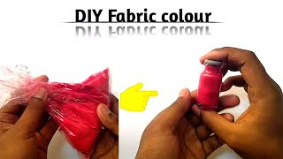Best use of waste gulal as fabric colour//DIY FABRIC COLOUR