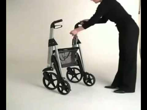 Einfaches Verstauen -  Active Walker, Leichtgewichts Rollator - Kuhn und Bieri AG