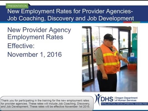 New Provider Employment Rates
