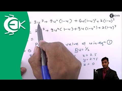 Problem no.1 on Bezier Curve in Computer Aided Design