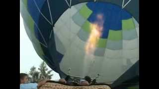 На большом воздушном шаре. Клип