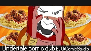 Съеденные спагетти Папайруса [UnderTale ComicDub] by UTC