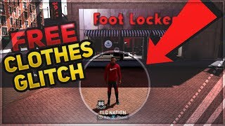 NBA 2K18 FREE CLOTHES GLITCH,HOW TO GET CLOTHES AND SHOES FREE! (EASY AND FAST)