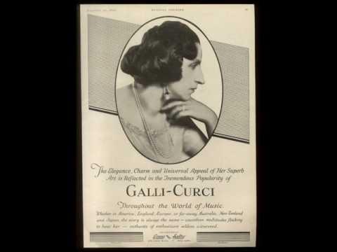 Amelita Galli-Curci - La Sonnambula: